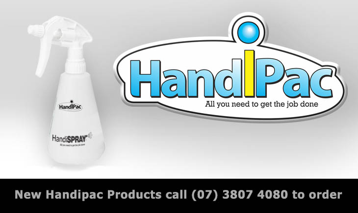 New handipac Products - HandiSPRAY